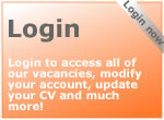 Login for all our vacancies